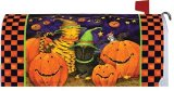 Halloween Cats Mailbox Cover