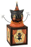 Black Cat Candy Box Halloween Figurine