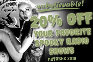 Spooky Old Time Radio Shows